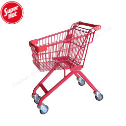 Les petits enfants Jouet Roue chariot supermarché épicerie de détail Mini Panier Mall