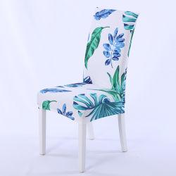 Напечатано обеденный спандекс стул крышка для украшения дома