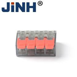 Compacte veerklem van 0,5 mm tot 4 mm, druk in de aansluitklem