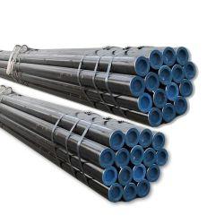 Tuyau sans soudure en acier de fer noir utilisé pour tuyau de pipeline de pétrole