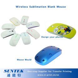 Mouse caldo della radio dello spazio in bianco di sublimazione