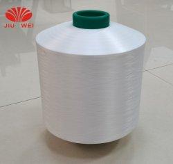 Comércio por grosso de matérias-White chamar a texturização Poli DTY 100 Denier Filament 150 48 100% poliéster fios de textura para tricotar