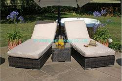 비치 호텔의 정원 가구, 수영장 등나무, 선 라운저 수영장 라운지 의자