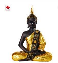 أوكازيون ساخن مخصص ريسين يجلس على تمثال بوذا الذهبي الكبير