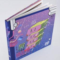Großverkauf fertigt weißen Papppapier-Kind-Buch-Druckservice kundenspezifisch an