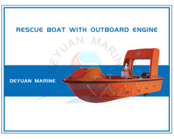 25HP/40HP Outboard Engineの6人Solas Rescue Boat
