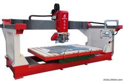 Hualong Hlsq-650 이탈리아 유형 브리지는 화강암 얇은 석판 테이블 대리석 기계 절단기를 보았다