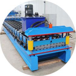 Fabrik-gutes Preis PLC-Steuerautomatische Dach-Panel-Wand-Blatt-Rolle, welche die Maschine/Dach herstellt die Maschine/trapezoides Dach Maschine herstellend bildet