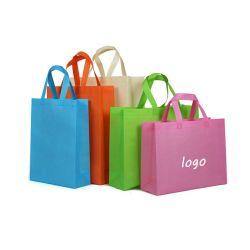 PP non tissé sac sacs Shopping Package Vêtements Logo personnalisé sac fourre-tout ordinaire
