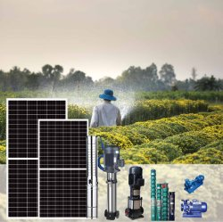 2943 10kW 솔라 패널 관수 태양열 용수 펌프 시스템