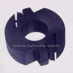 Profil de la tête de coupe de bois avec couteaux interchangeables (FX-0388)