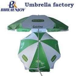 Custom gran parasol Parasol al aire libre con la impresión de logotipo de 180/200/240 cm para la promoción/publicidad/Calle mostrar