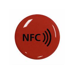 Ntag 213 NFC エポキシソーシャルメディア共有ステッカー NFC エポキシ タグ
