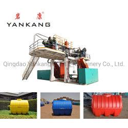 Gran depósito de agua automático de HDPE de tambor de plástico moldeado por soplado y máquina de moldeo