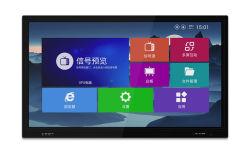 """Samsung со светодиодной подсветкой для установки на стену 75""""Android киоск с сенсорным экраном"""
