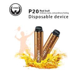 Elektronische Zigarette der Hülse-Art Vape Feder-Batterie-600mAh Vape der Hülse-4.5ml ohne flüssige Vape Batterien e-