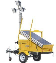 Torretta chiara mobile solare