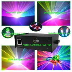 Outdoor 5W Laser RGB luz laser de Animação Ilda DJ Lasershow iluminação de palco a Laser