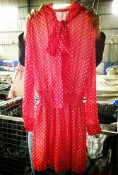 方法Grade Used Lady Silk Blouse、Used Clothing