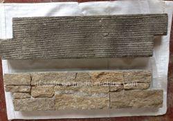 Rug van uitstekende kwaliteit van het Cement van de Steen van het Graniet van de Lei van de Huid van de Tijger de Gele