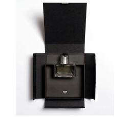 Cadre de empaquetage de parfum noir classique