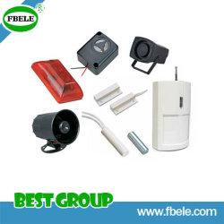 La sirena electrónica Piezo/Contacto magnético/Alarma Alarma piezoeléctrica