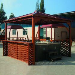 熱い販売の耐久の木の温水浴槽の屋外の望楼(SR885)