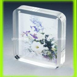Haut transparent en acrylique de gros Funia Sexy Photo Frame