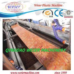 WPC ПВХ декорированных одношнековый экструдер для производства