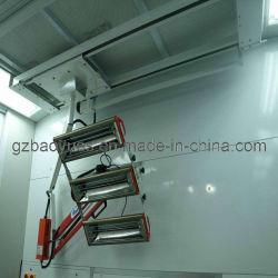 Lampe infrarouge pour la voiture en cabine de pulvérisation de peinture / Four à peinture