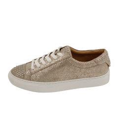 Los espárragos de pin de la Copa Puntera cuero suela de encaje hasta la moda casual zapatos zapatillas mujer