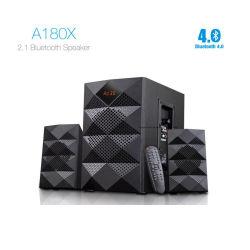 A180X 2.1 Bluetooth Multimedia-drahtloser Lautsprecher-Hifieinfassung - Ton