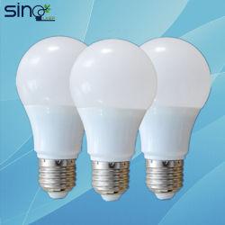 Indicatore luminoso di lampadina di alta qualità A60 E27 SMD LED con la lampadina di risparmio di energia del Ce
