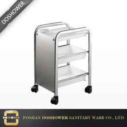 Matrice de travail du métal utilisé Salon sèche de 3 couches de trolley Cabinet