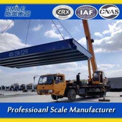 Carro de Concreto Industrial Truck escalas do Piso da Plataforma