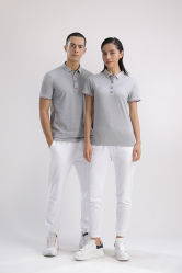 Couple T Shirts noir T-shirt Polo Shirt 100 Coton