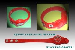 Haut de matériel et écologique de Silicone Watch réglable