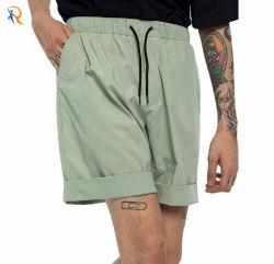 Pantalones cortos de alta calidad de impresión de la carga de algodón personalizadas Diseño de la mens sudor Shorts Rtm-518