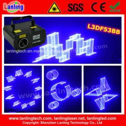 1000MW Fat-Beam Azul animação 3D Projetor Laser (L3DF53BB)