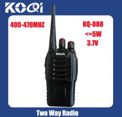 UHF 400-470MHz Handheld 2 Way Radio