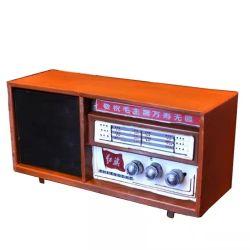 중국 레트로 스타일 70s 빈티지 라디오 모델 철 공예