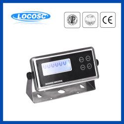 OIML Ntep Aprovado pela CE LCD de 6 dígitos de célula de carga de pesagem de alta precisão visor escala de peso