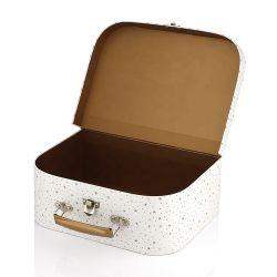 Disque de carton recyclé de conception privés jouets bagages valise d'emballage boîte cadeau