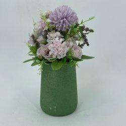 Planta suculenta artificial ornamentos para la decoración de interiores