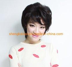 الشعر البشري الكامل مربوط باليد الشعر الصناعي مزيج الشعر بالجملة الشعر النساء wig