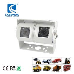 Night Vision étanche Double lentille réversible bus Truck Digger Agricultural Système de caméra de recul pour camions de véhicules lourds