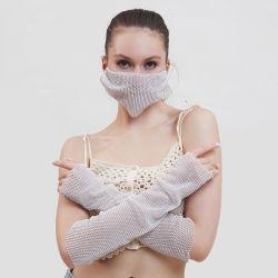 Maschera di protezione adulta blu del Gridding della perla di alta qualità Kz03 del coperchio lucido decorativo del fronte