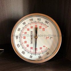 150mm Bimetall Temperaturmessgerät Zurück Anschluss Thermometer
