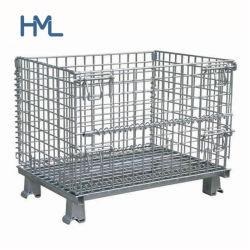 Gute Qualitätspreiswertes Lager-sperrt zusammenklappbares Metalldraht-Ineinander greifen Speicherung ein
