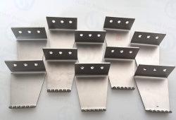 As peças metálicas personalizadas para peças de flexão do pé de mãos livres Touchless trinco de porta